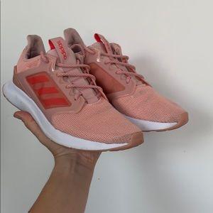 Pink Adidas sneakers 9.5